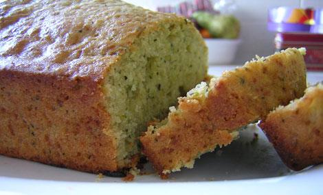 vegan courgette cake