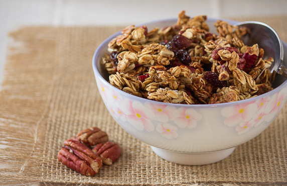 Maple and Pecan Granola