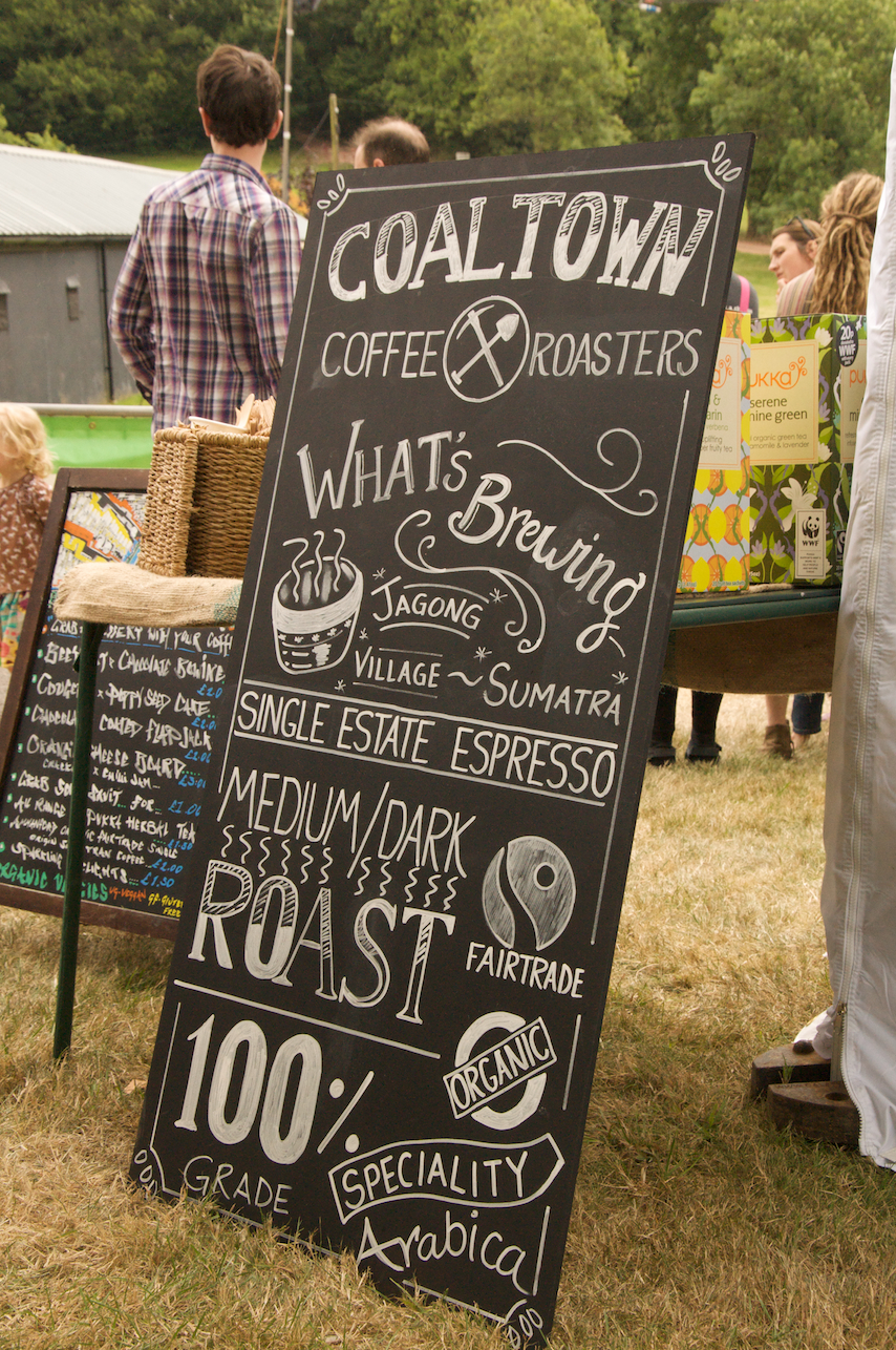 Coaltown Coffee Brewers - Green Gathering EthicalChef 2014