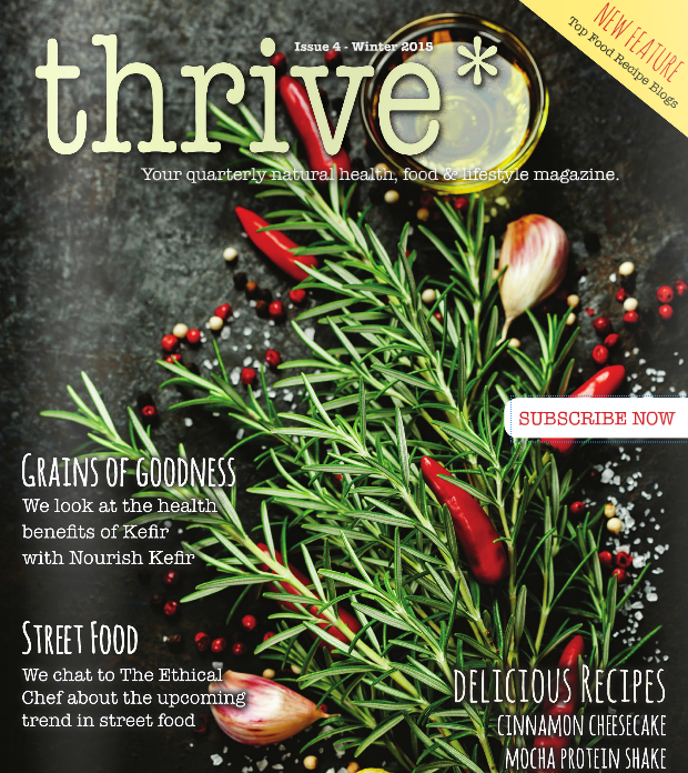 Thrive Ethical Chef Street Food