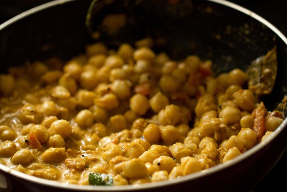 Chickpea Goan Curry